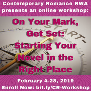 Starting Your Novel in the Right Place graphic